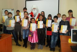 Новый год, филиал в г.Костанай, Казахстан