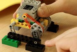 Шагающий робот, прототип