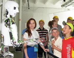 Говорящий робот Теспиан