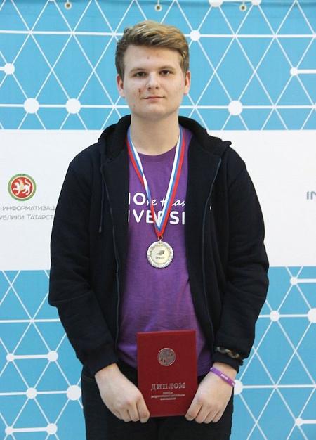 Алексей Пономарев - Призер Всероссийской олимпиады
